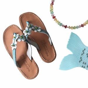 new Kid Express ❉ Martinique Sandal ❉ Turquoise